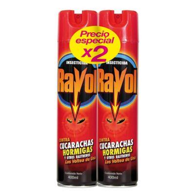 Rayol Spray Rastreros X 400 Mililitros X 2 Unidades