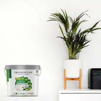 Pintura Ecológica Natural Con Grafeno Para Interior 4 Litros Blanco