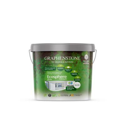Pintura Ecológica Con Cal y Grafeno Para Interior 4 Litros Blanco