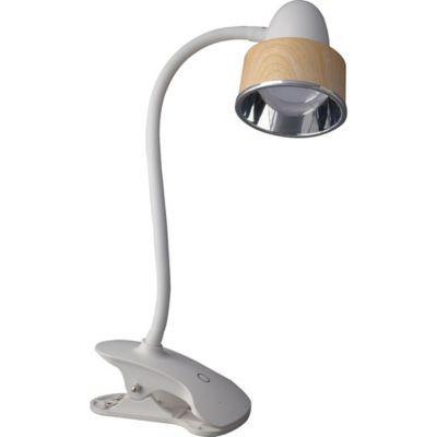 Lámpara Escritorio Platón Clip LED 160 Lúmenes 5W Bco Ma