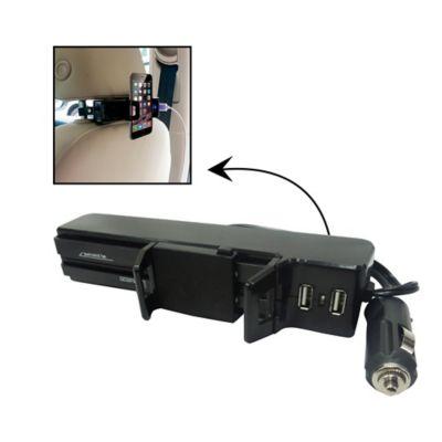 Soporte y Cargador Smartphone para Cabecero Autos