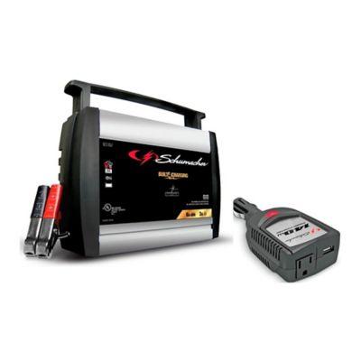 Cargador 50Amp  + Inversor 140W