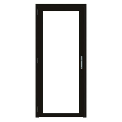 Puerta  0.9 X 2.0 mt Aluminio - Vidrio  6 mm Templado