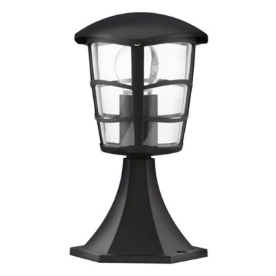 Farol Pie Baño Aloria 1 Luz E27 60W Negro 30cm