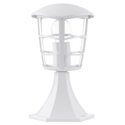 Farol Pie Baño Aloria 1 Luz E27 60W Blanco 30cm