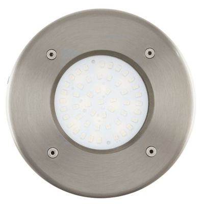 Bala Piso Red Led 190 Lúmenes 2.5W Lamedo Vidrio IP65