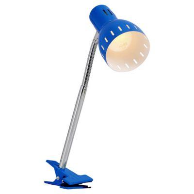 Lámpara Escritorio Clip E27 Azul