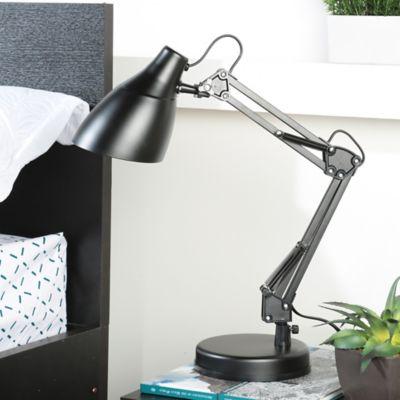 Lámpara Escritorio Articulada E27 Negra