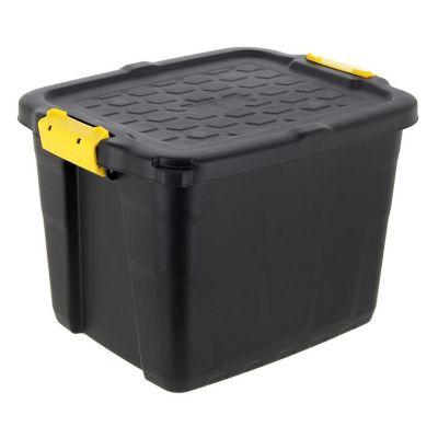 Caja Organizadora Alta Resistencia Strata 35x40x50 cm 42 Lt Negro