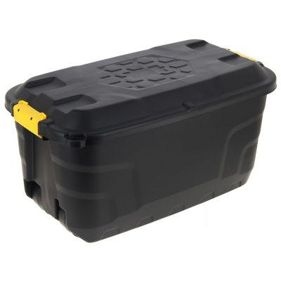 Caja Organizadora Alta Resistencia Strata 40x42x77 cm 75 Lt Negro