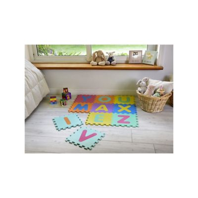 Tapete Didactico Letras 30X30