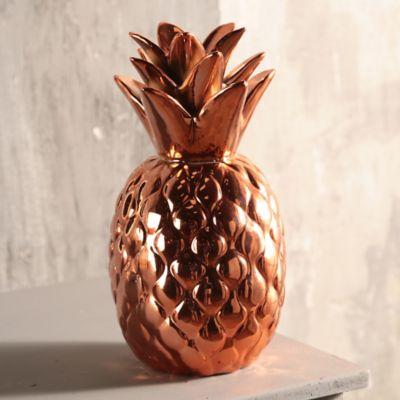 Fruta Piña Hawai 24 cm Cobre