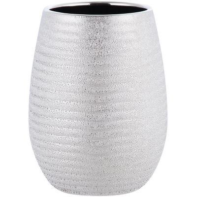 Vaso Shiny Silver