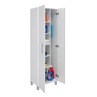 Mueble Auxiliar de Aseo Nala 181.1x51.2x36.8 cm Blanco