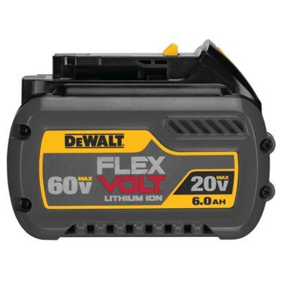 FLEXVOLT Batería de 20V a 60V MAX y 6Ah
