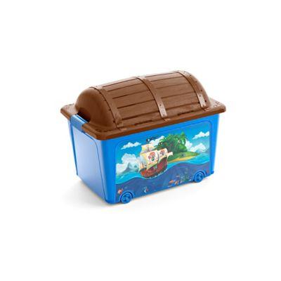 Caja Organizadora Baúl Pirata 57x43x39 cm 50 Lt