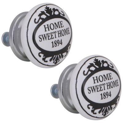 Pomo Porcelana 40Mm Sweet Home No 15 2Und Fixser