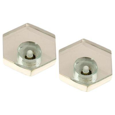 Pomo Cristal Transparente 2Und Fixser