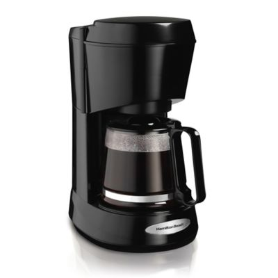 Cafetera 5 Tazas Sistema Antigoteo REF 48136 Negro