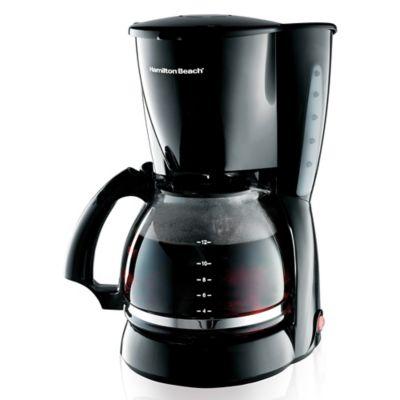 Cafetera 12 Tazas REF 49316 Negro