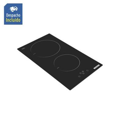 Estufa Vitrocerámica de Inducción Touch 33 cm 2 Puestos