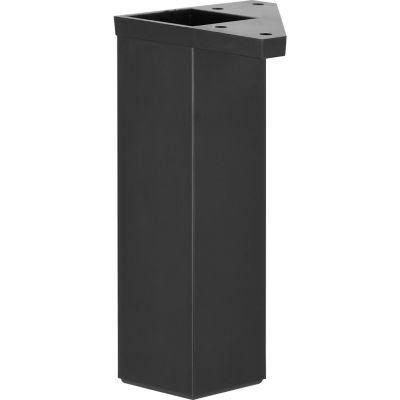 Pata Cuadrada ABS 40X150Mm Negro Fixser