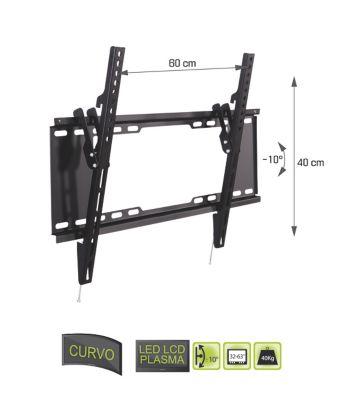 Soporte De Pared Ajustable LED LCD plasma curvo 32-63