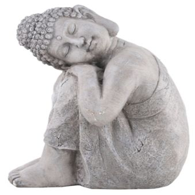Figura Budha Reposando 30 x 40 x 48 cm