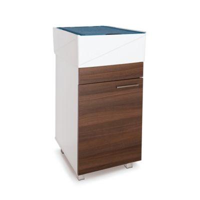 Lavadero Esencial Con Mueble Inferior 1 Puerta Amaretto Y Accesorios Azul