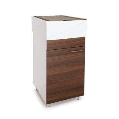 Lavadero Esencial Con Mueble Inferior 1 Puerta Amaretto Y Accesorios Taupe
