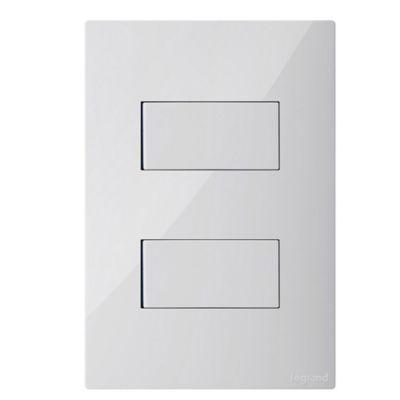 Interruptor Doble Conmutable Blanco Clickme