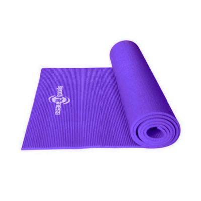 Colchoneta Tapete Yoga Ejercicios Morado