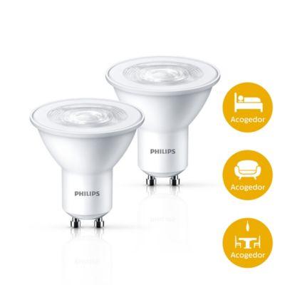 Bombillo LED GU10 350 lúmenes 5w 50w Luz Amarilla