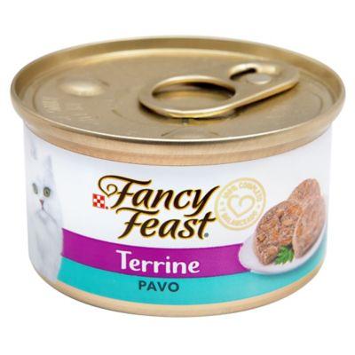 Alimento Húmedo Para Gatos Fancy Feast Terrine Pavo X 85 Gr