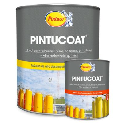 Kit Pintucoat 1 Galón Blanco Gratis Catalizador 1/8