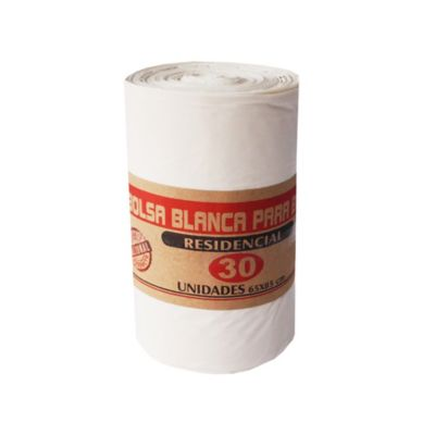 Bolsa Para Basura Blanca 65 x 85