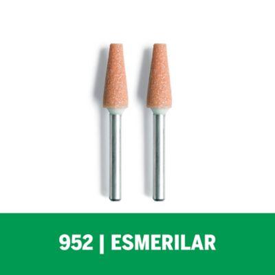 Piedra Esmeriladora de Oxido Aluminio 1/4-pulg