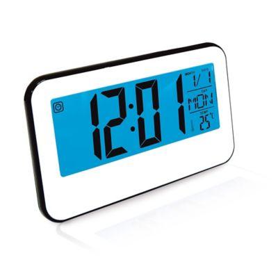 Reloj Despertador Con Luz De Toque 8 Melodias