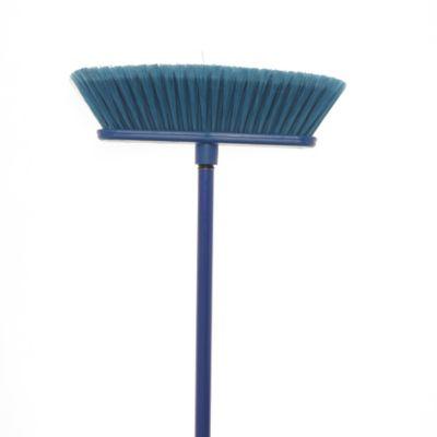 Escoba Monocolor Suave Azul