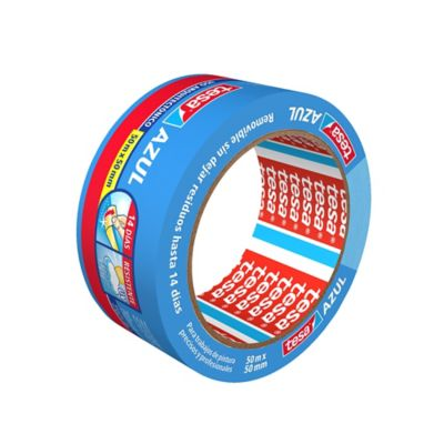 Cinta Enmascarar Azul Proteccion UV 14D 50m x 50 mm
