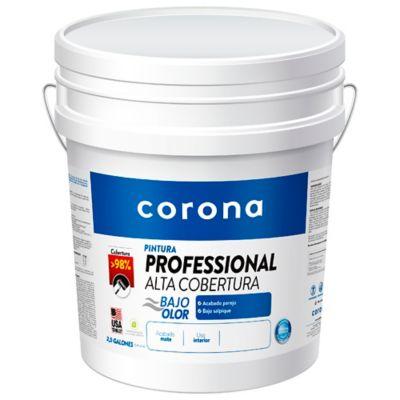 Pintura para Interior Pro Alta Cobertura Blanco 2.5 Galones