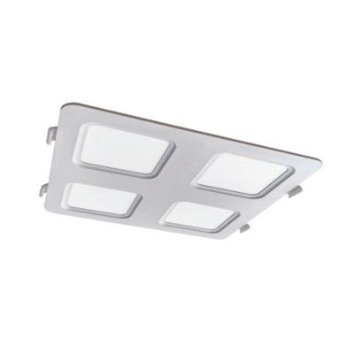 Panel LED Cuadrado Blanco 1692 Lm Luz Fria