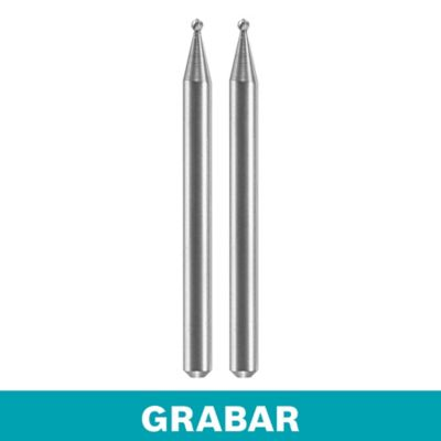 """Fresa para Grabar x 2 -  1/16"""" - 1,6mm  (5 und)"""
