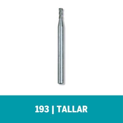 """Fresa de Alta Velocidad 193 - 5/64"""" - 2,0mm (4 und)"""