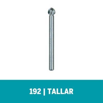 """Fresa de Alta Velocidad 192 - 3/16"""" - 4,8mm - 2 unid (2 und)"""