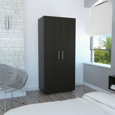 Closet Tera 2 Puertas 180x80x48cm Wengue