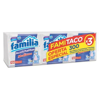 Servilleta Acmax Famitaco Mediana 9 x 3 x 100