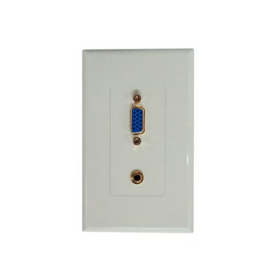 Placa con Conector vga/Audio AUX3.5mm