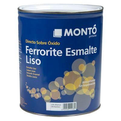 Esmalte Ferrorite Negro 750 ml