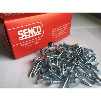 Clavo Galvanizado 1-1/4 Pulgada Caja X 500 Unidades Cabeza Plana De 9-10Mm